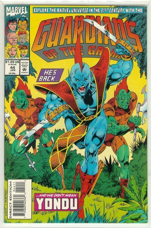 GUARDIANS of the GALAXY #44 (1990 Series) NM!