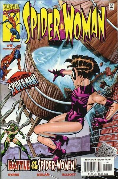SPIDER-WOMAN #9 (1999 Series) NM!