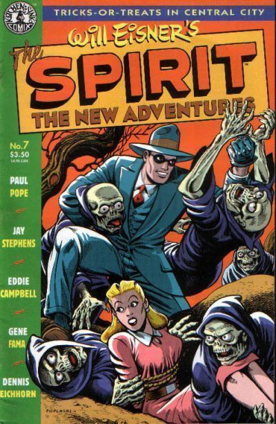 SPIRIT: The NEW ADVENTURES #7 (Kitchen Sink, 1998) NM!