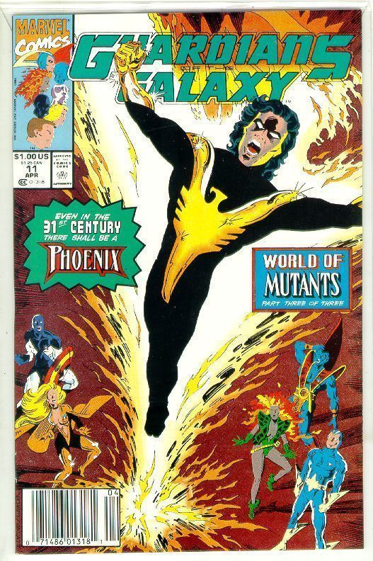 GUARDIANS of the GALAXY #11 (1990 Series) NM!