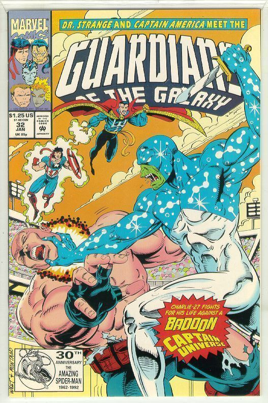 GUARDIANS of the GALAXY #32 (1990 Series) NM!