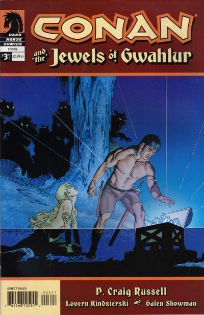 CONAN and the JEWELS of GWAHLUR #3 (Dark Horse, 2005) NM!