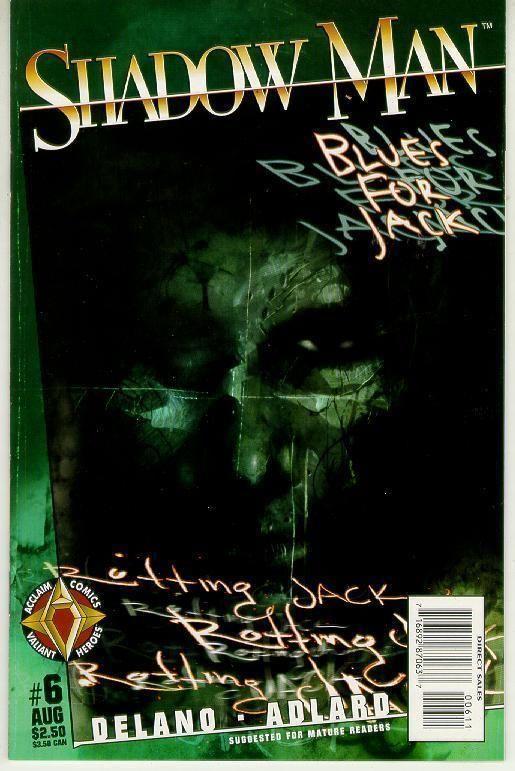 Shadowman #6 (Acclaim) ~ NM!