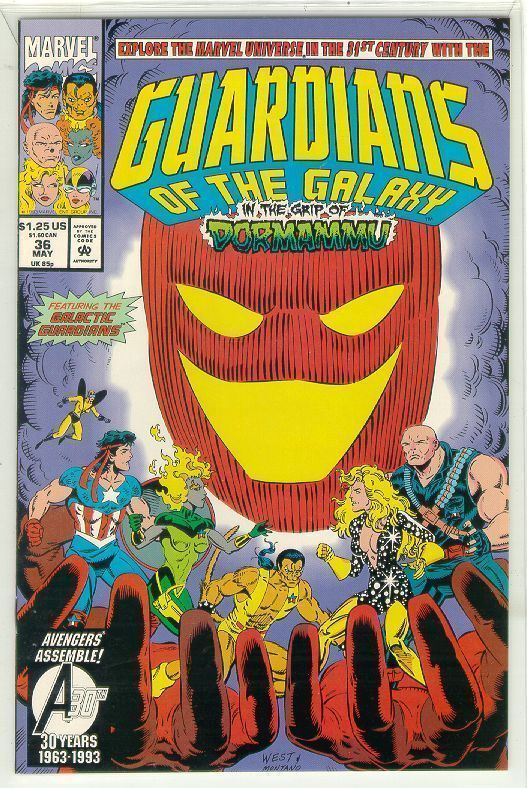 GUARDIANS of the GALAXY #36 (1990 Series) NM!