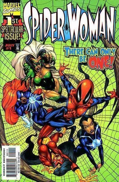 SPIDER-WOMAN #1 (1999 Series) NM!
