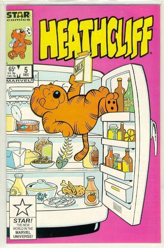 HEATHCLIFF #5 (Star Comics) NM!
