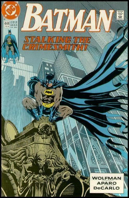 BATMAN #444 (1990) NM!