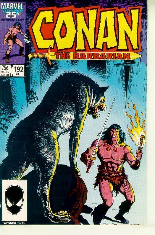 CONAN the BARBARIAN #192 NM!