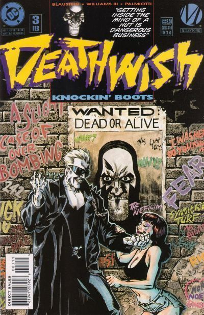 DEATHWISH #3 (Milestone) NM!