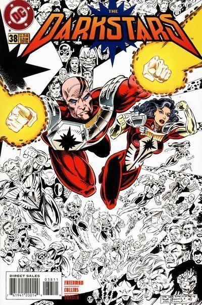 DARKSTARS #38 (DC Comics, 1992) NM!
