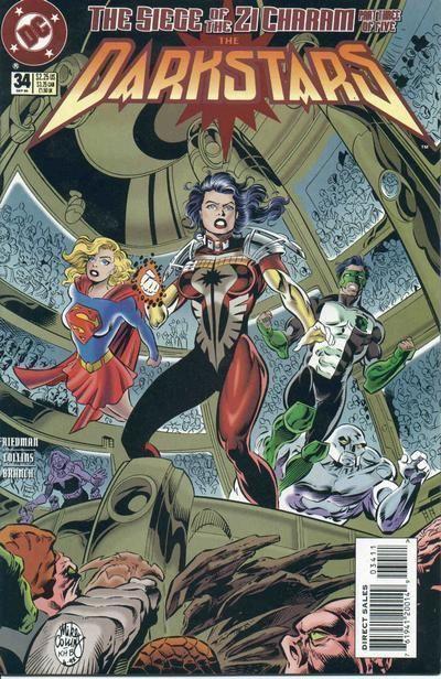 DARKSTARS #34 (DC Comics, 1992) NM!