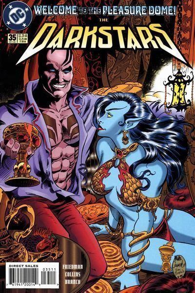 DARKSTARS #35 (DC Comics, 1992) NM!
