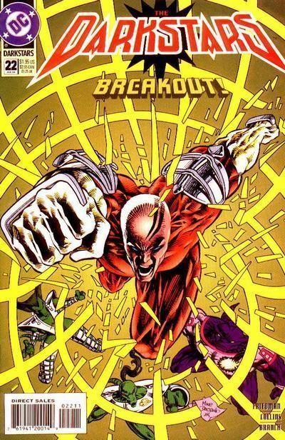DARKSTARS #22 (DC Comics, 1992) NM!