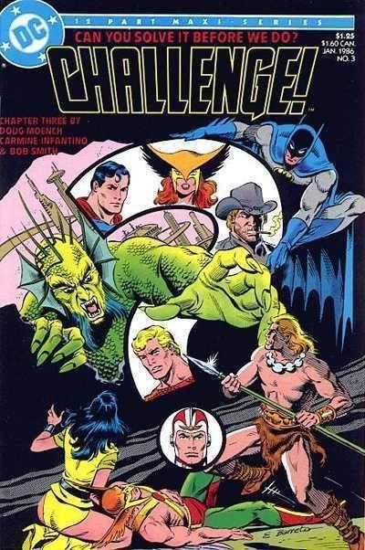 DC CHALLENGE! #3 NM! ~ SUPERMAN ~ BATMAN ~ WONDER WOMAN