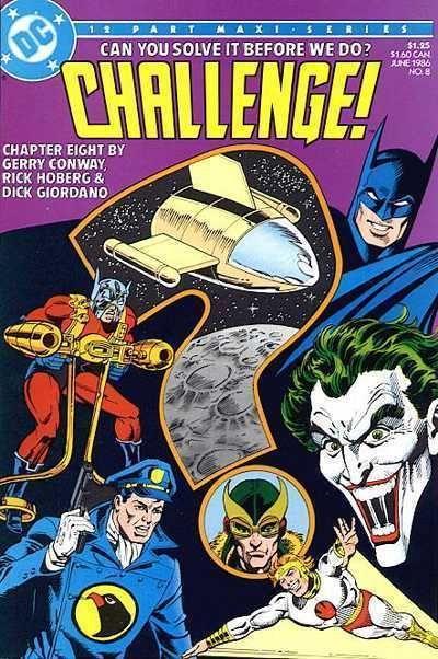 DC CHALLENGE! #8 NM! ~ SUPERMAN ~ BATMAN ~ WONDER WOMAN