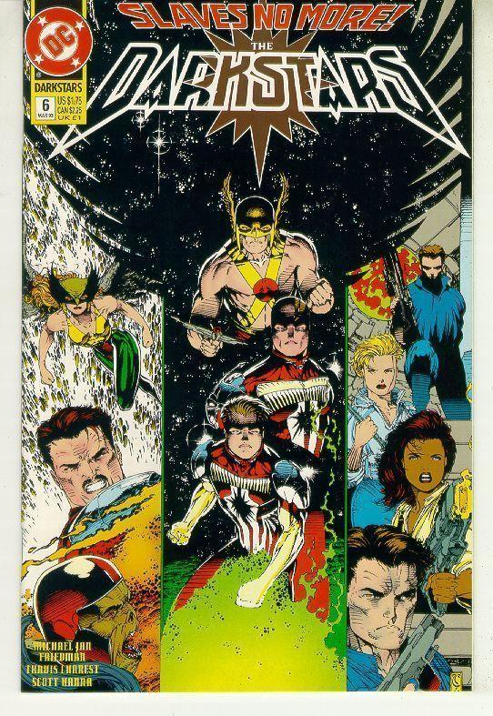 DARKSTARS #6 (DC Comics, 1992) NM!