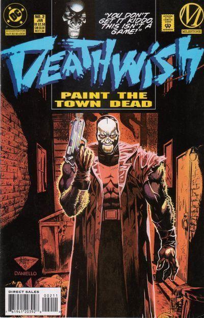 DEATHWISH #2 (Milestone) NM!
