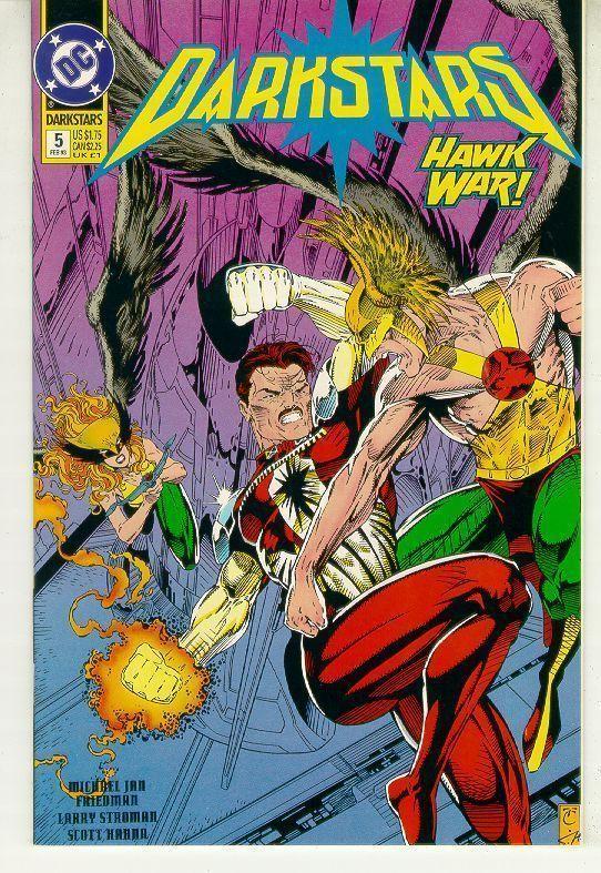 DARKSTARS #5 (DC Comics, 1992) NM!