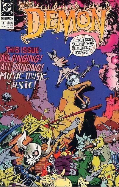 DEMON #6 (1990 Series) NM!