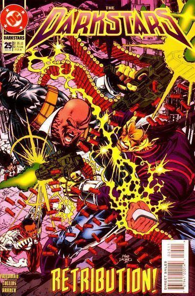 DARKSTARS #25 (DC Comics, 1992) NM!