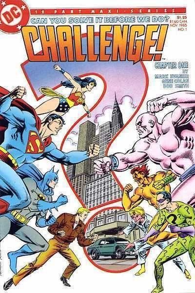 DC CHALLENGE! #1 NM! ~ SUPERMAN ~ BATMAN ~ WONDER WOMAN