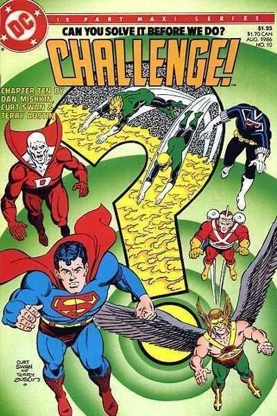 DC CHALLENGE! #10 NM! ~ SUPERMAN ~ BATMAN ~ WONDER WOMAN