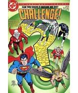 DC CHALLENGE! #10 NM! ~ SUPERMAN ~ BATMAN ~ WONDER WOMAN - $1.00