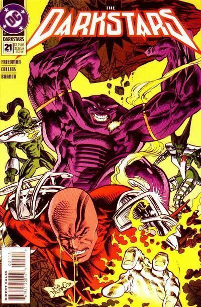 DARKSTARS #21 (DC Comics, 1992) NM!