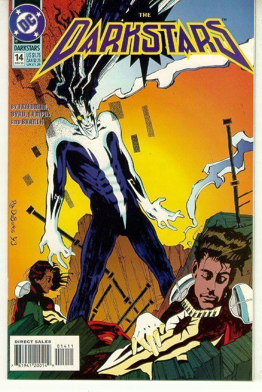 DARKSTARS #14 (DC Comics, 1992) NM!