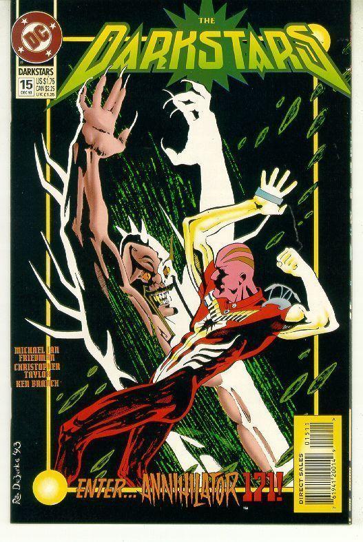 DARKSTARS #15 (DC Comics, 1992) NM!