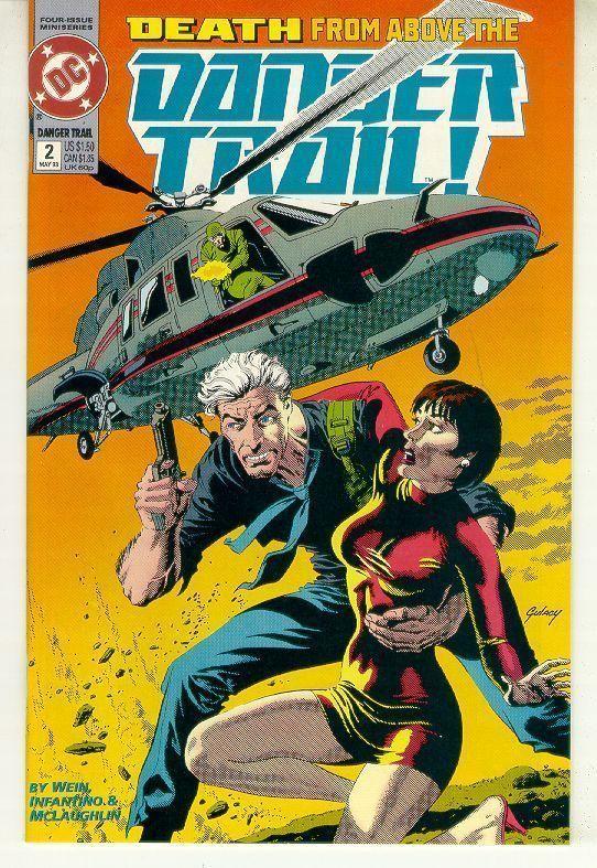 DANGER TRAIL #2 (DC Comics, 1993) NM!