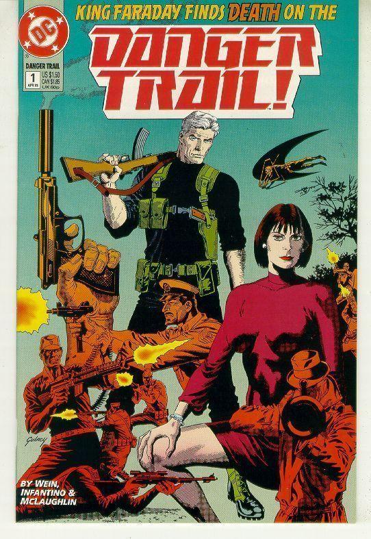 DANGER TRAIL #1 (DC Comics, 1993) NM!