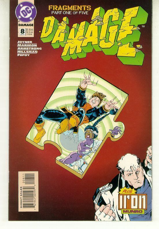 DAMAGE #8 (DC Comics) NM!