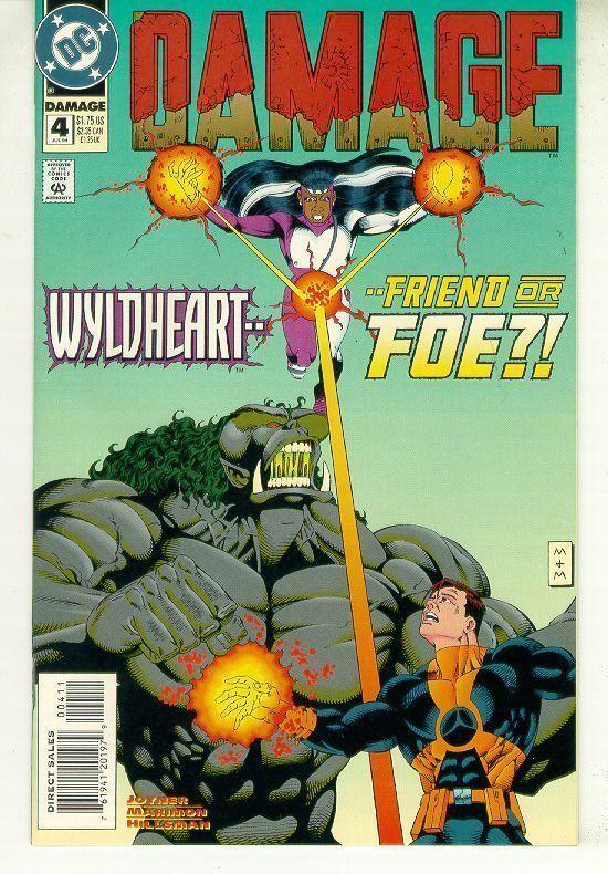 DAMAGE #4 (DC Comics) NM!