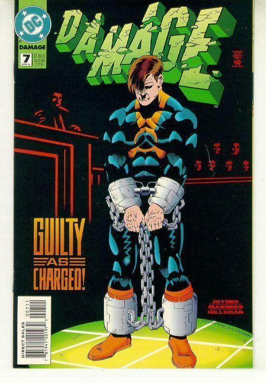 DAMAGE #7 (DC Comics) NM!