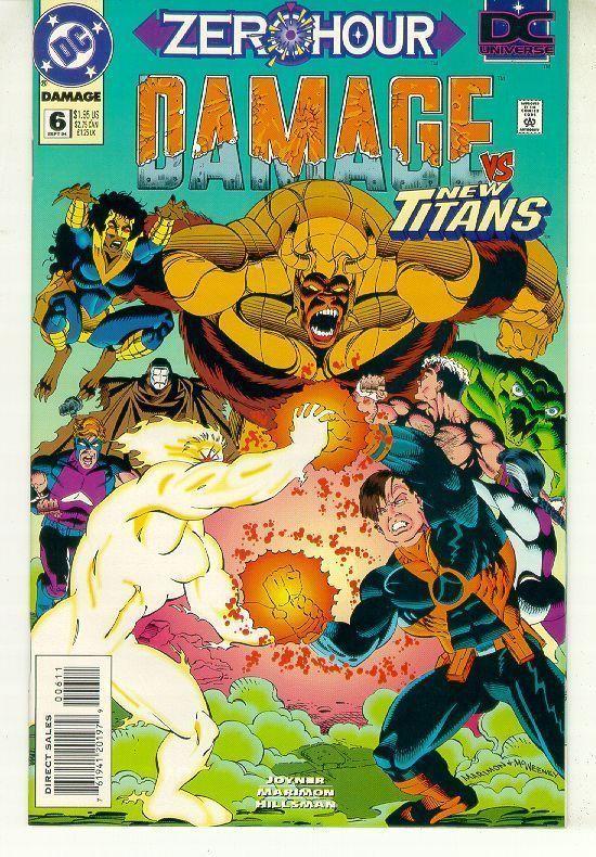 DAMAGE #6 (DC Comics) NM!