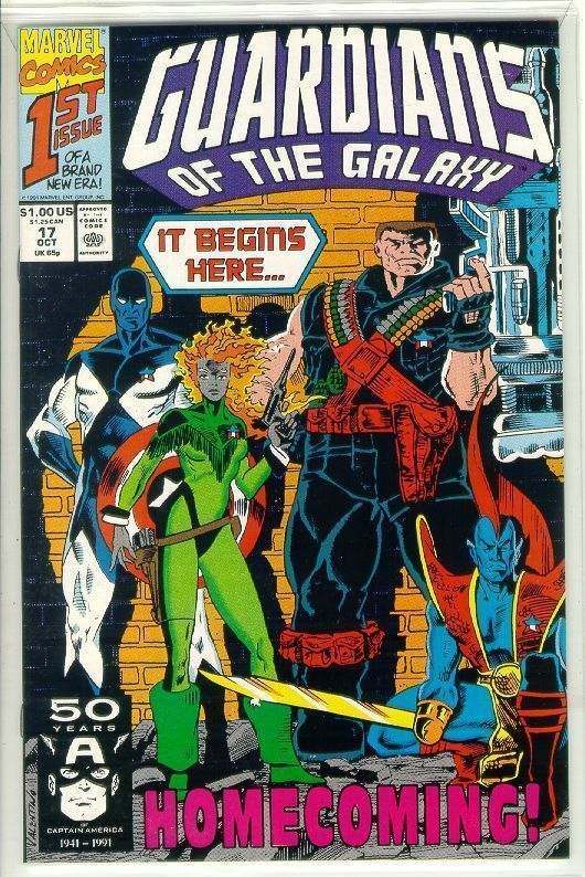 GUARDIANS of the GALAXY #17 (1990 Series) NM!