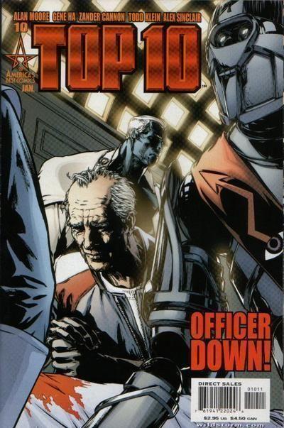 TOP 10 #10 (America's Best Comics) NM! ~ Alan Moore