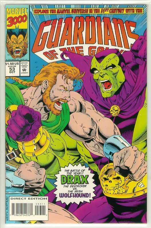 GUARDIANS of the GALAXY #53 (1990 Series) NM!