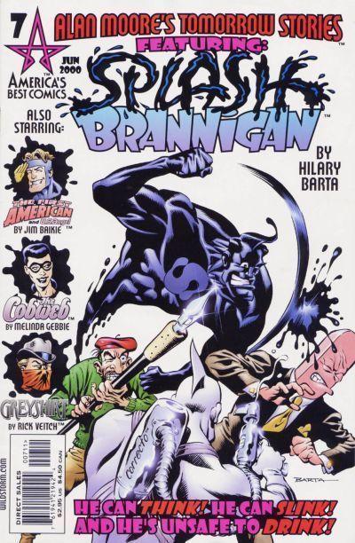 TOMORROW STORIES #7 (America's Best Comics) NM! ~ Alan Moore