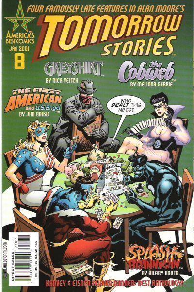 TOMORROW STORIES #8 (America's Best Comics) NM! ~ Alan Moore