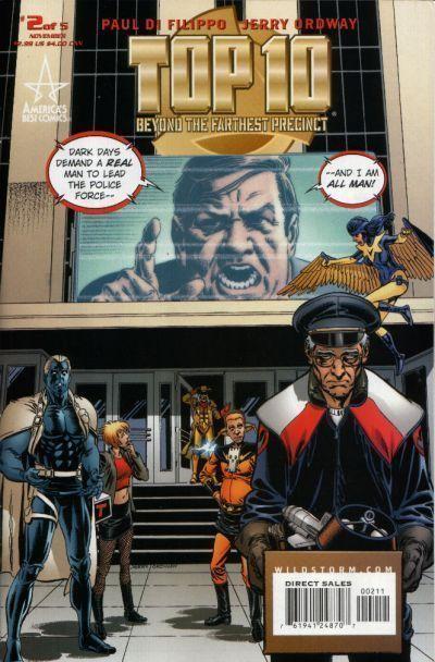 TOP 10: BEYOND the FARTHEST PRECINCT #2 (America's Best Comics) NM! ~ Alan Moore