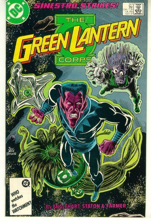 GREEN LANTERN CORPS #217 (1986 Series) NM!