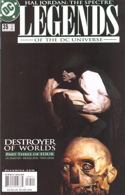 LEGENDS of the DC UNIVERSE #35 NM! ~ Spectre