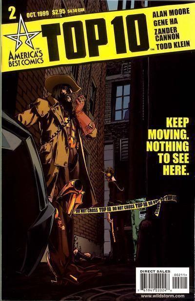 TOP 10 #2 (America's Best Comics) NM! ~ Alan Moore