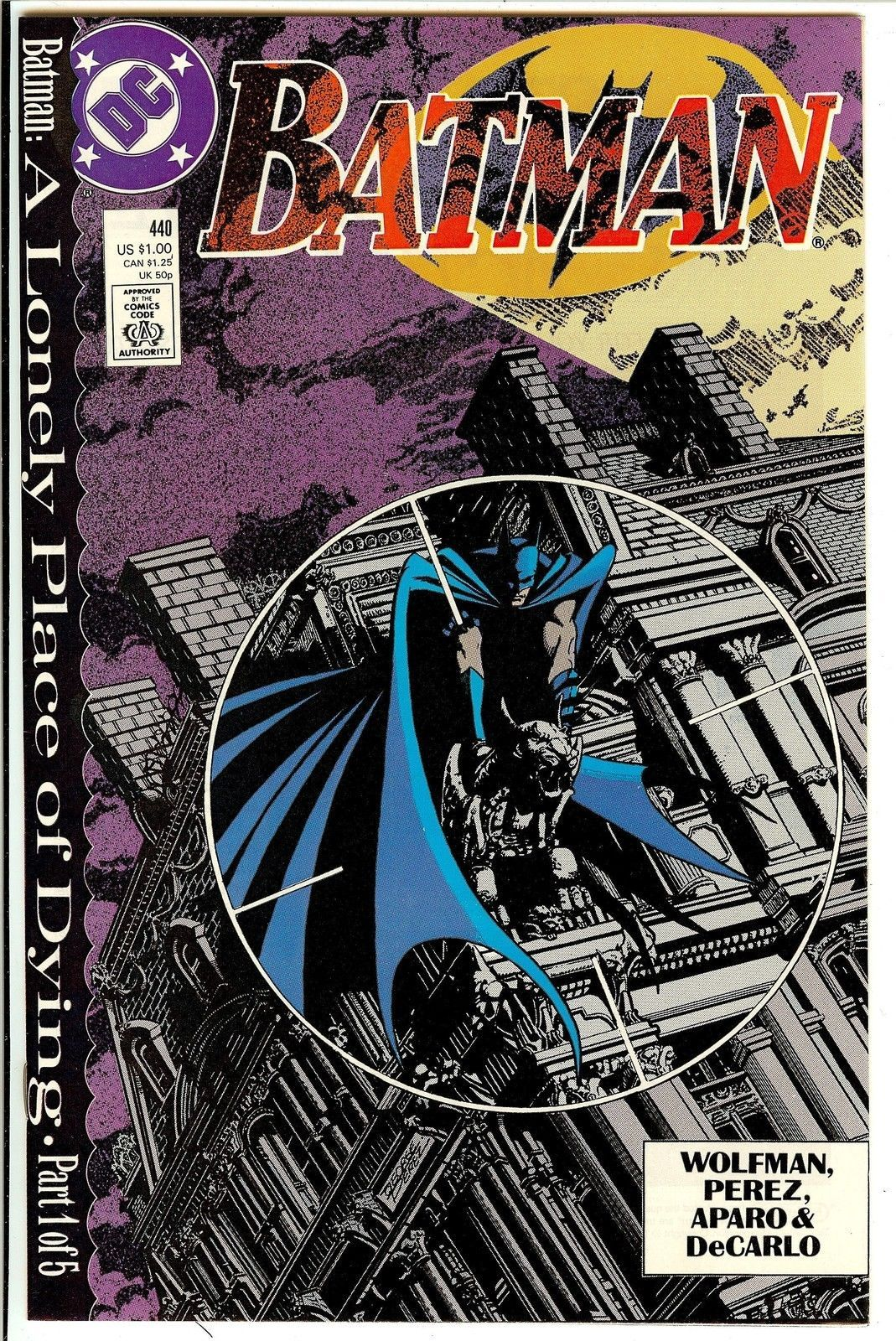 BATMAN #440 (1989) NM!