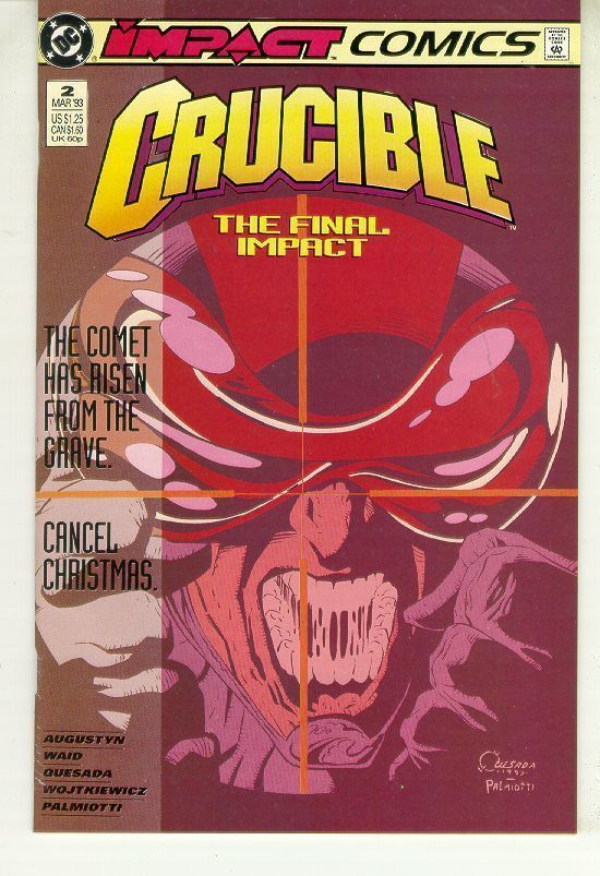 CRUCIBLE #2 (Impact Comics, 1993) NM!