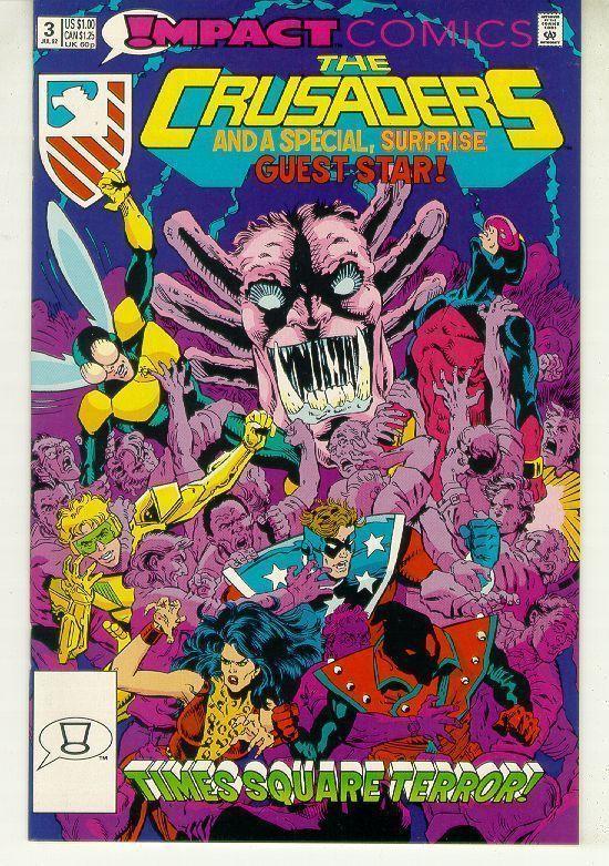 CRUSADERS #3 (Impact Comics, 1992) NM!