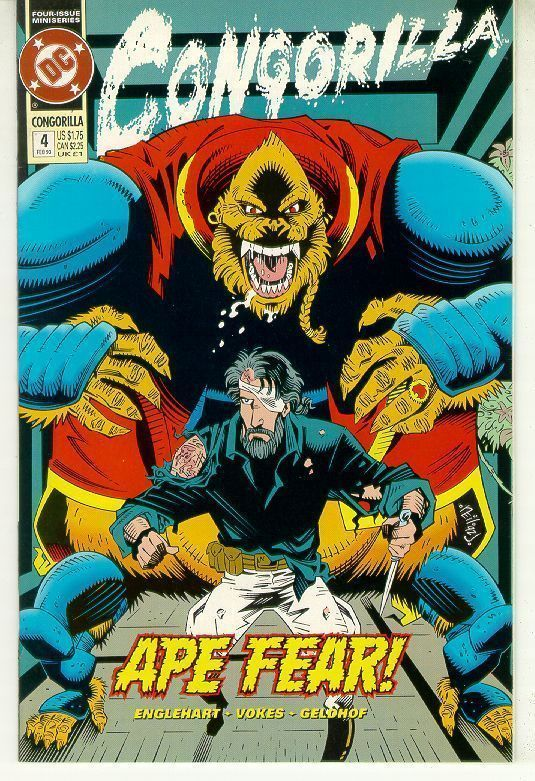 CONGORILLA #4 (DC Comics, 1992) NM!