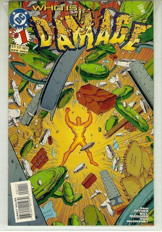 DAMAGE #1 (DC Comics) NM!